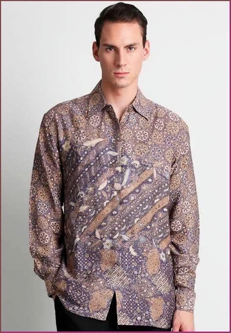 Baju Lengan Panjang by Model Baju Batik Pria Lengan Panjang Terbaru Batik Tulis