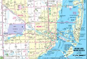 Map Miami by Maps Of Miami