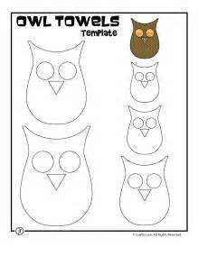 Owl Template by Printable Owl Template Woo Jr Activities