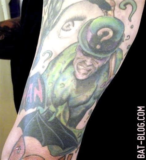 batman tattoo art ngecorblog rick s totally insane batman theme tattoo