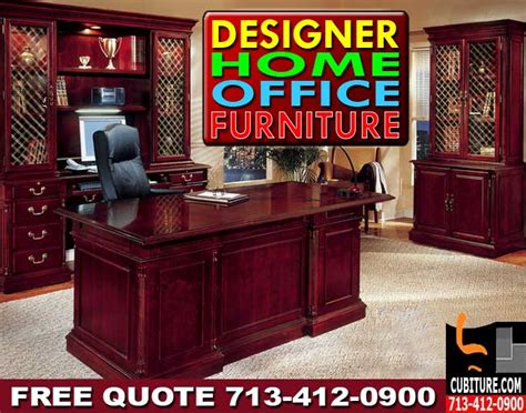 designer home office furniture for sale houston