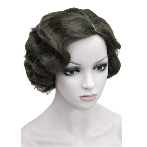 lace wig shorter hairstyles strongbeauty flapper hairstyles for women finger wave wigs