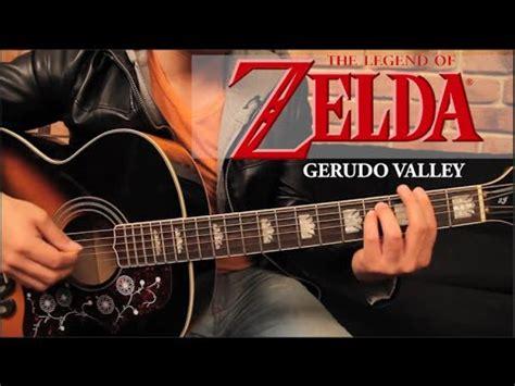zelda tutorial guitar zelda gerudo valley tutorial guitarra tab guitar