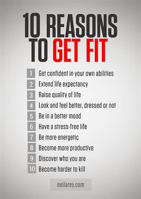 reasons to get a 10 reasons to get fit mondaymotivation fitness newyearnewyou