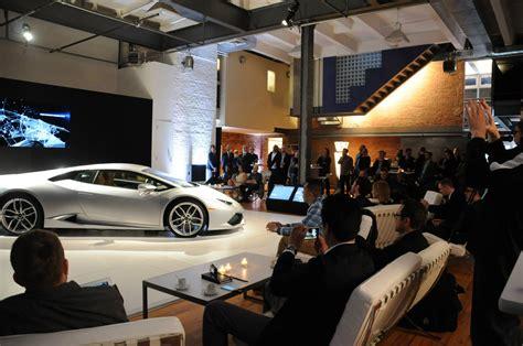 Lamborghini Dealership In New York Lamborghini Huracan Showcased In New York At Bathhouse