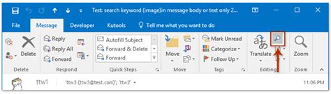 Search Emails In Outlook How To Search In Email Messages Text In Outlook