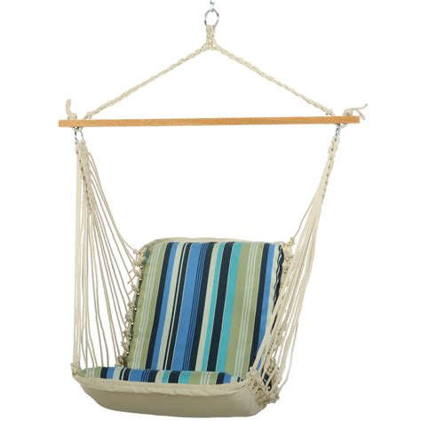 individual swings pawleys beaches stripe single cushioned porch swing
