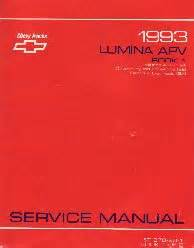service manuals schematics 1993 chevrolet lumina apv regenerative braking 1993 chevrolet lumina apv factory service manual 2 volume set