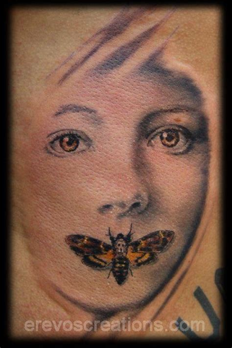 silence of the lambs tattoo 62 best tattoos by thanassis pimpas erevoscreations images