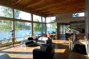 Decorating Ideas For River House Central Washington River Residence By Mcclellan Architects