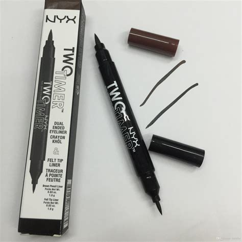 Eyeliner Spidol Nyx nyx eyeliner pencil headed makeup eyeliner pencil black color liquid eye liner black
