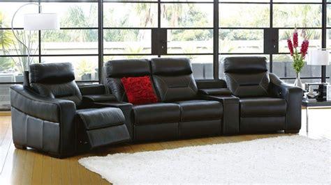 bodega mk leather powered recliner modular lounge