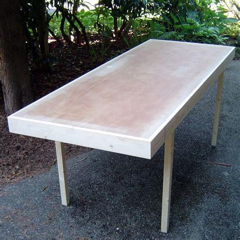 hollow door table 25 best ideas about hollow doors on diy