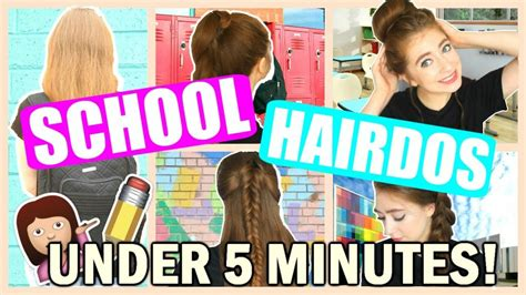 easy back to school hairstyles no heat back to school heatless hairstyles 2016 no heat easy