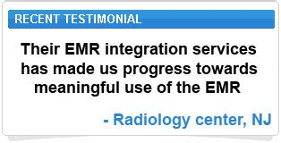 features of radiology transcription services emr