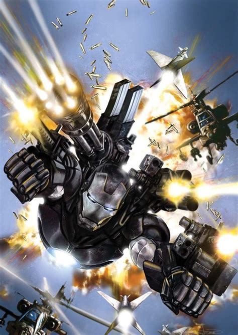 Iron War Machine Comic top 10 black comic book characters of all time comicattack