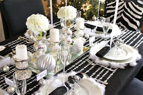 elagant christmas table tops in white theme table decorations for 2016 easyday