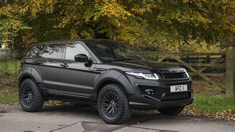 build and price range rover go rally with the kahn design range rover evoque x lander