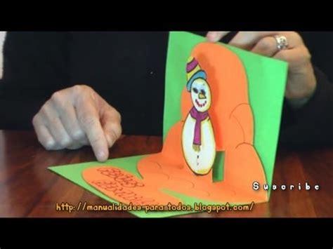 decorar traducido al ingles tarjeta 3d de navidad 3d pop up card tarjetas pop up