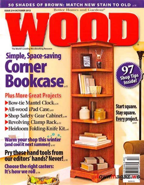 wood  october    magazines