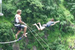 bungee swing bungee jumping extreme sports