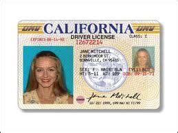 california drivers license beautiful scenery photography