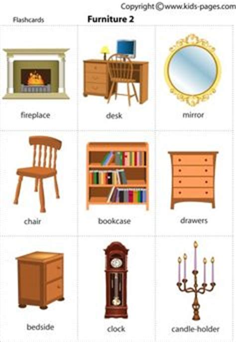 kitchen furniture names 1000 images about house spl on flashcard