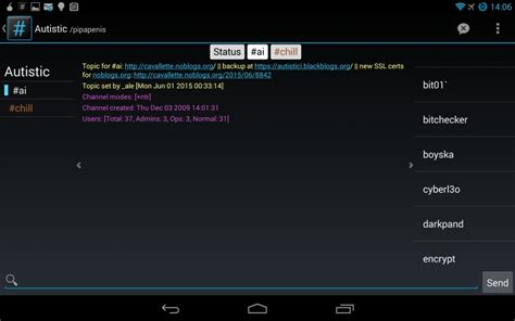 android irc irc client f 252 r android 3 apps im vergleich chip