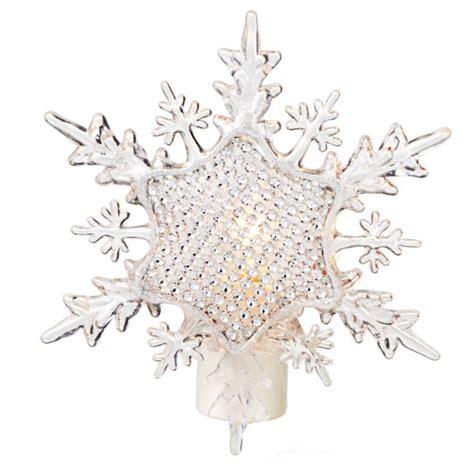night light snowflake adoption faceted snowflake christmas night light