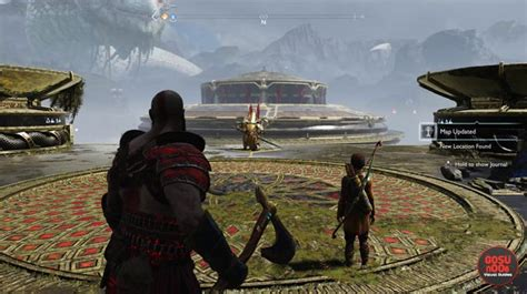 lookout tower boat dock god of war muspelheim realm tower how to get on top