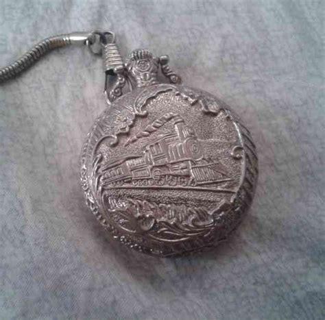 cadenas de plata cali reloj de bolsillo ferrocarril de antioquia r 233 plica en