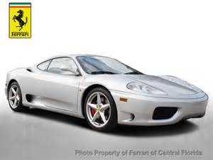 1999 360 Modena Price 1999 Used 360 Modena At Of Central Florida