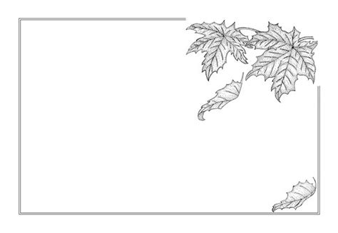 pattern frame drawing free stock photos rgbstock free stock images autumn