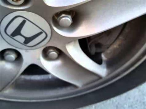 honda accord  osf wheel grinding noise youtube