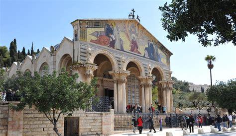der garten gethsemane kirche der nationen liegt im garten gethsemane foto