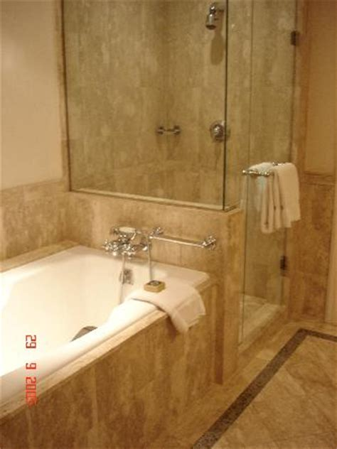 Separate Bidet Bathroom Bath Separate Shower Sink In One Area Wc And