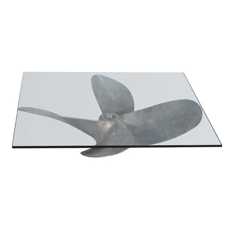 boat propeller table timothy oulton junk art propeller coffee table square