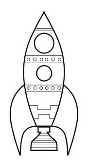 Rocket Template by Rocket Drawing Template