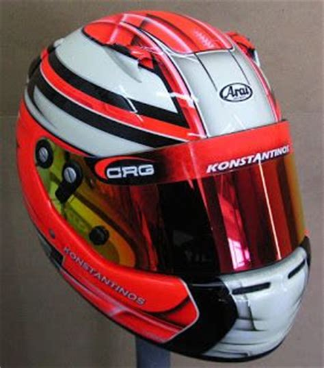 helmet design karting custom painted arai kart helmet 130 hand painted