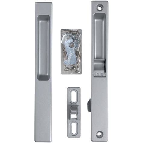 Shop Wright Products 6 5 In Flush Mount Sliding Patio Door Sliding Aluminium Patio Door Replacement Handles