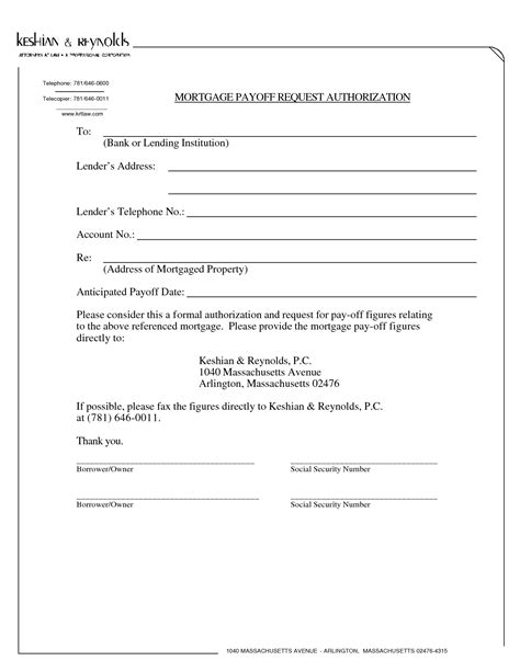 consent letter format for loan mortgage payoff authorization letter used cars still