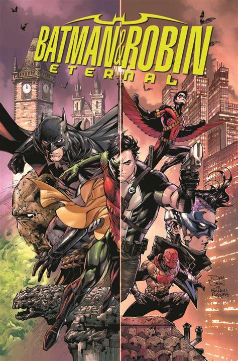 comic con dc announces weekly comic batman robin eternal ign