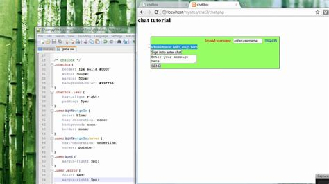 tutorial jquery ajax php chat shoutbox tutorial using php jquery and ajax part