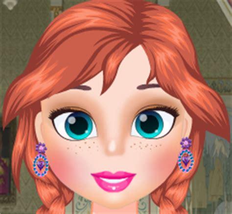 prenses anna makyaj ve giydirme oyunu oyna kral oyun