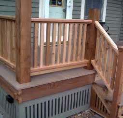 Ideas For Deck Handrail Designs Deck Railing Ideas