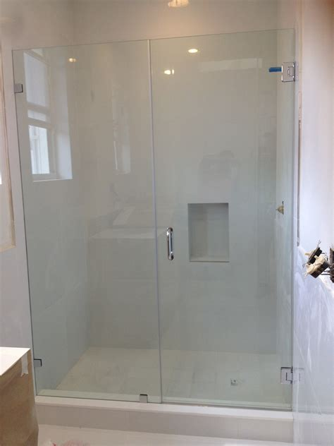 How To Install Frameless Shower Doors Frameless Shower Glass Doors