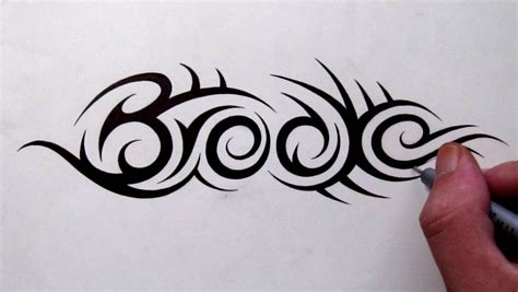 tattoo designs with hidden letters custom designs tribal name