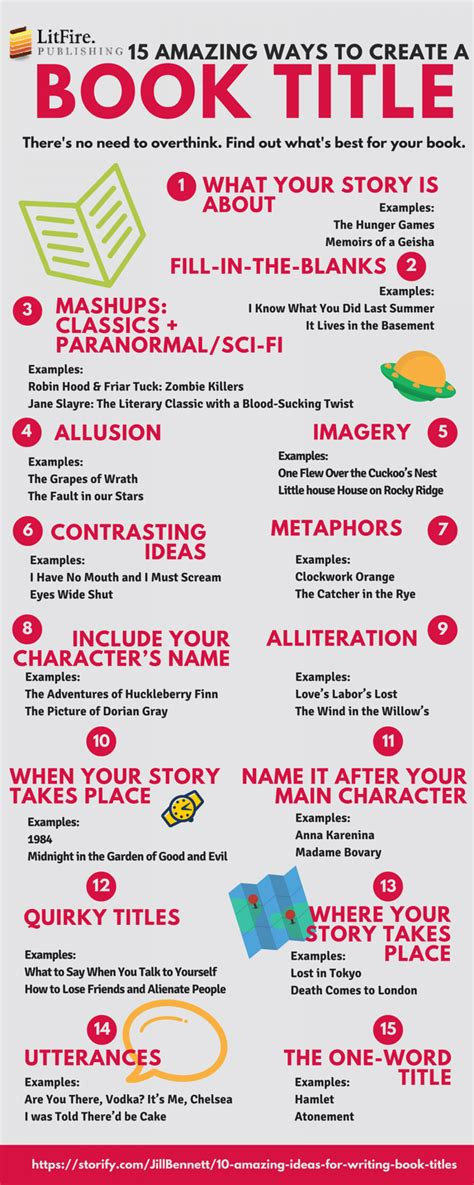 biography title ideas 15 amazing ways to create a book title visual ly