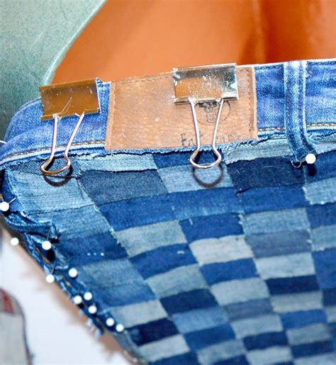 Hometalk   Upcycle an Old Suitcase With Jeans to Create