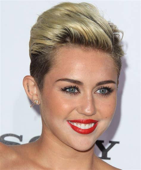 miley cyrus diverse short hairstyles for spring 2015 pictures of miley cyrus type haircuts hairstyle gallery